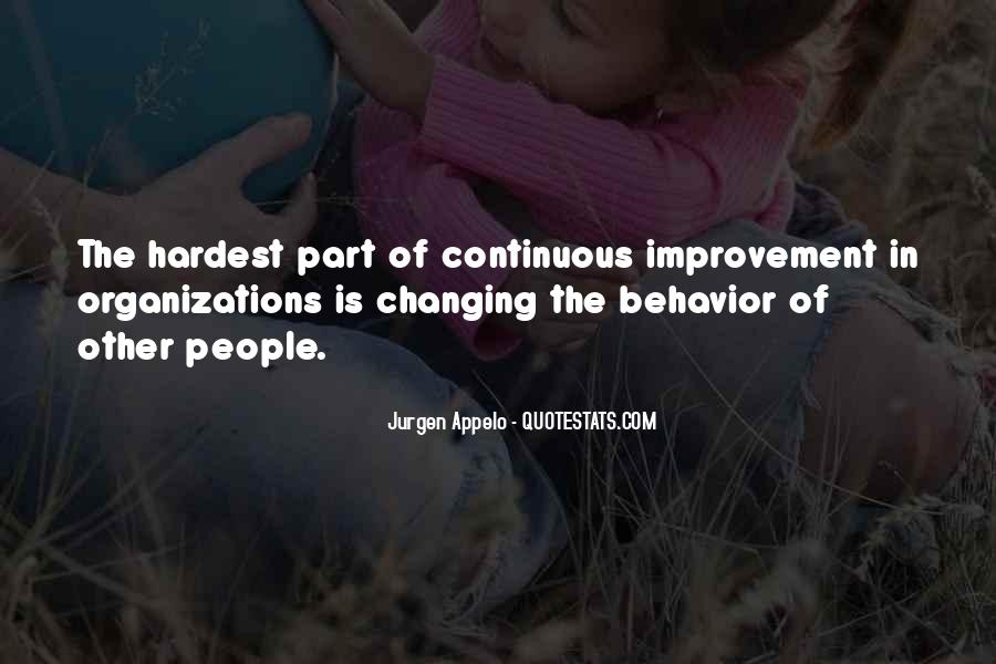 Quotes About Changing Behavior #1723639