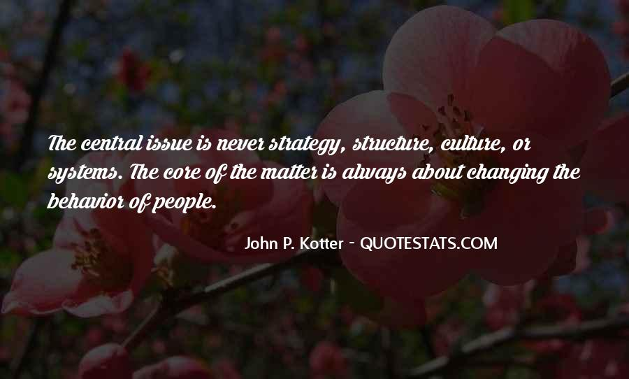 Quotes About Changing Behavior #660927