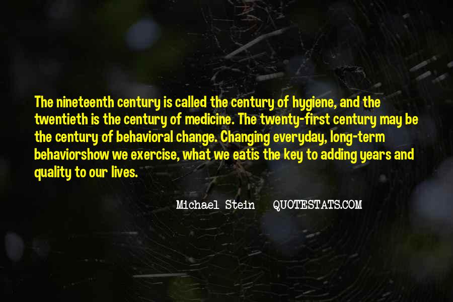 Quotes About Changing Behavior #903428