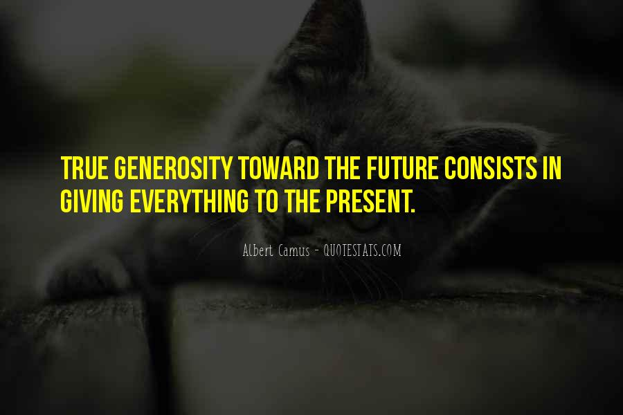 Quotes About Giving To The Future #117590