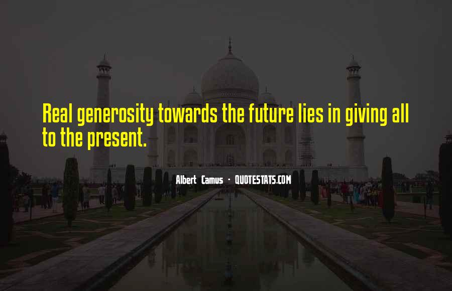 Quotes About Giving To The Future #1685526