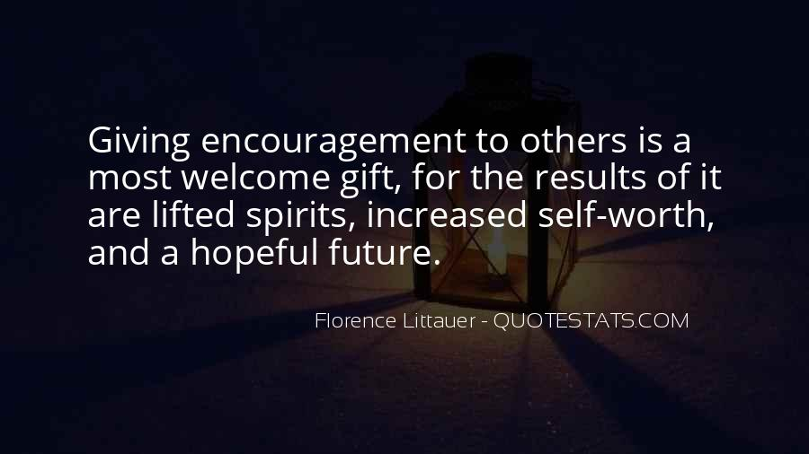 Quotes About Giving To The Future #373577