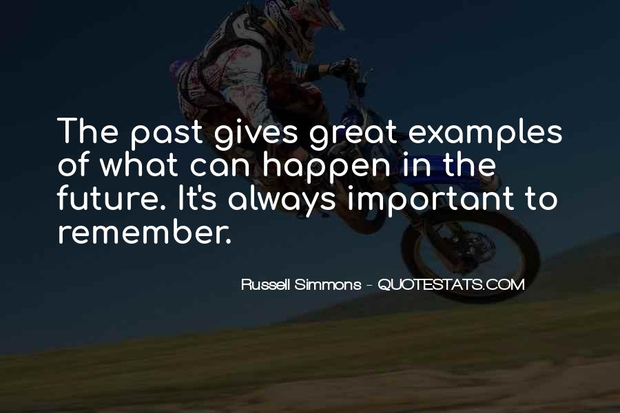 Quotes About Giving To The Future #790963