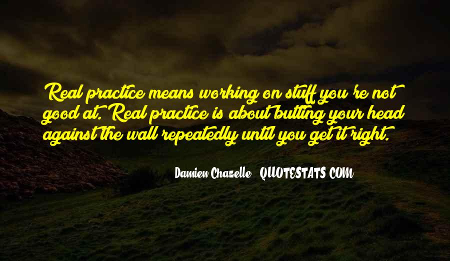 Quotes About Butting Out #1101530