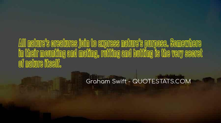 Quotes About Butting Out #1111714