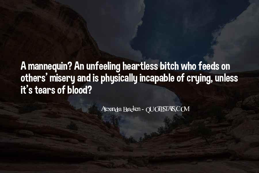 Quotes About Unfeeling #112308