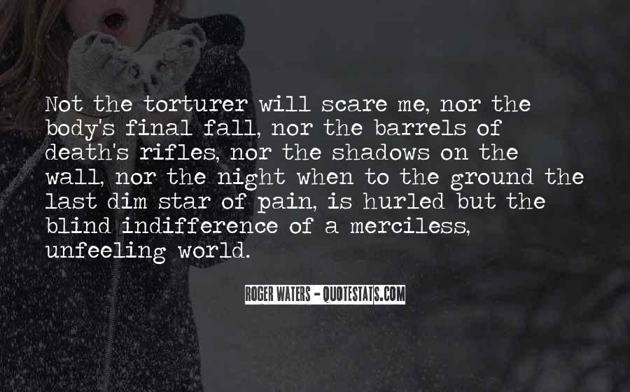 Quotes About Unfeeling #766842