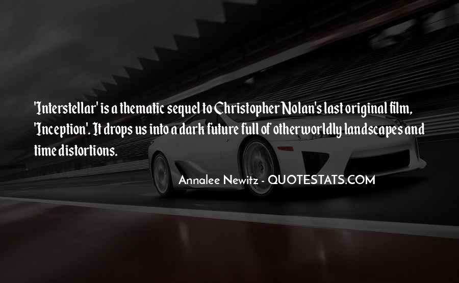 Quotes About Interstellar #1843811