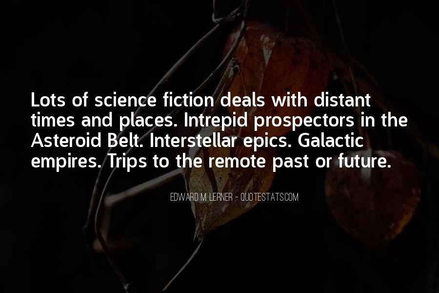 Quotes About Interstellar #395699
