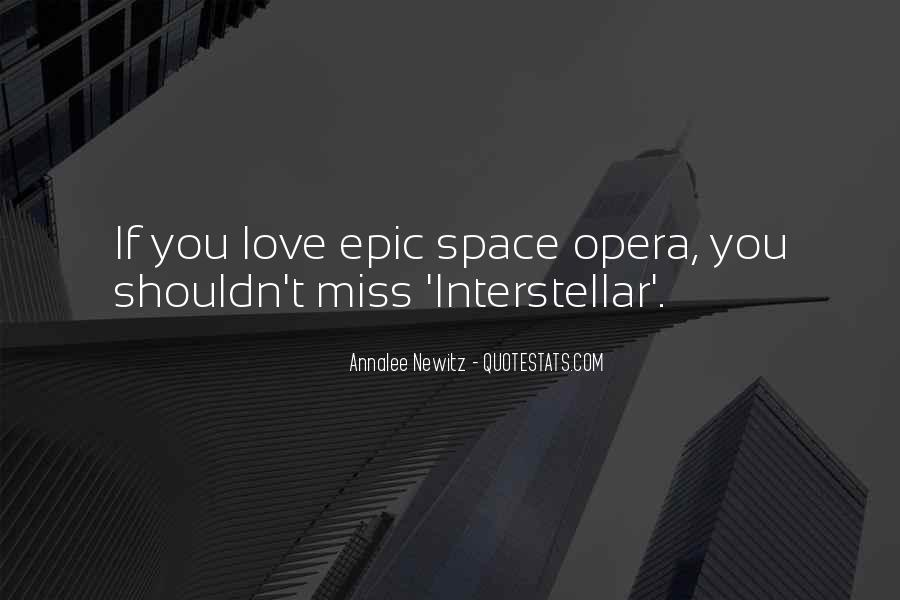 Quotes About Interstellar #405525
