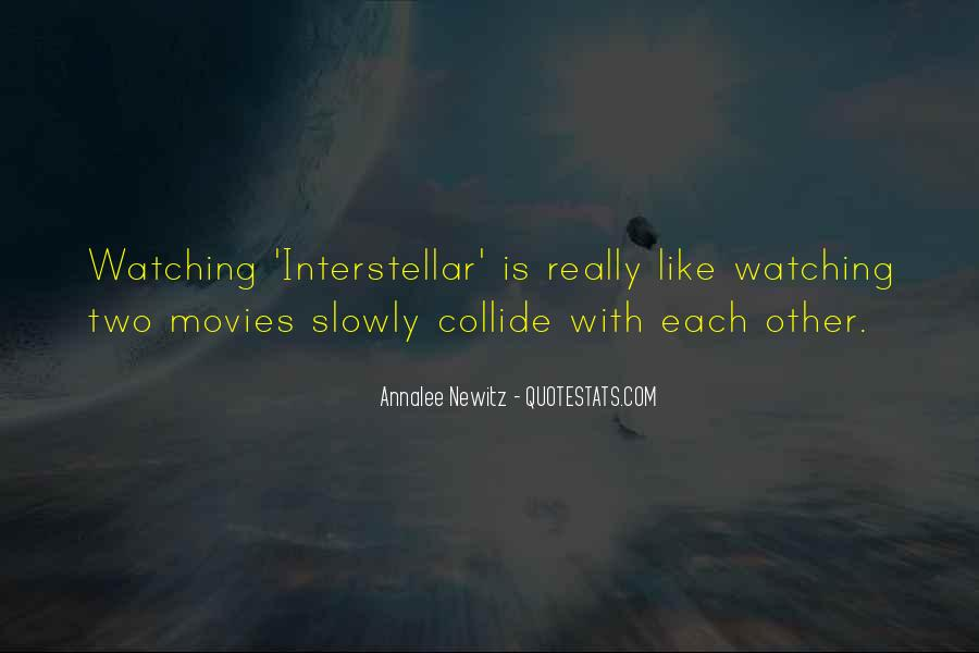 Quotes About Interstellar #995068