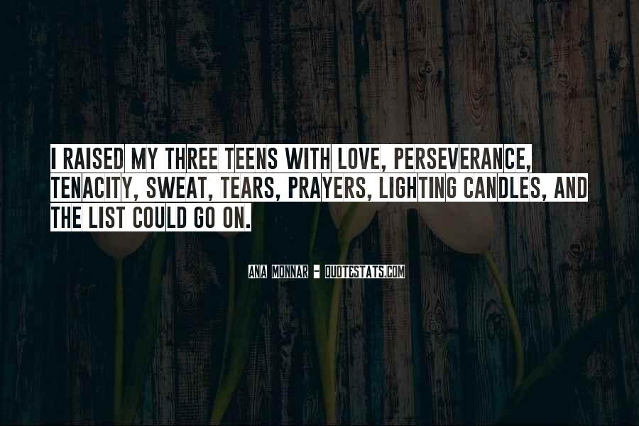 Quotes About Perseverance In Love #1488237