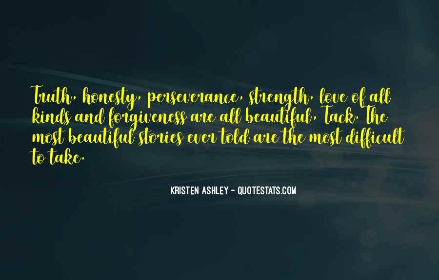 Quotes About Perseverance In Love #1490640