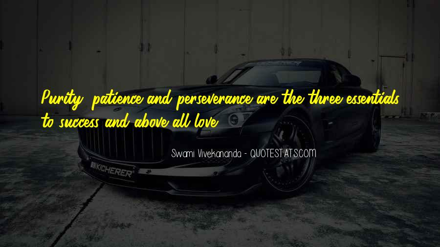 Quotes About Perseverance In Love #1729792