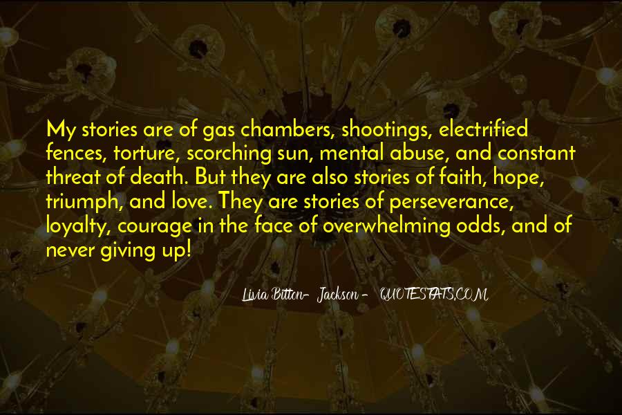 Quotes About Perseverance In Love #1823992