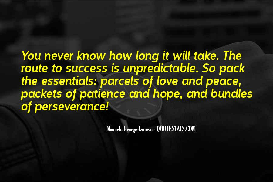 Quotes About Perseverance In Love #1862166