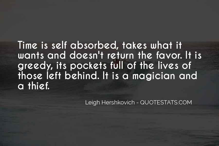 Quotes About Self Absorbed #1514955