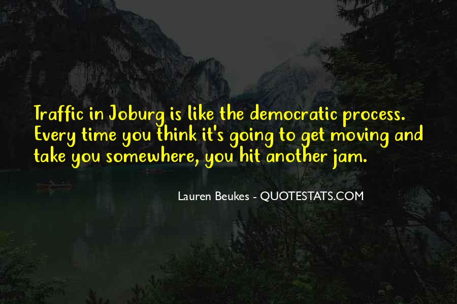 Quotes About Johannesburg South Africa #409227