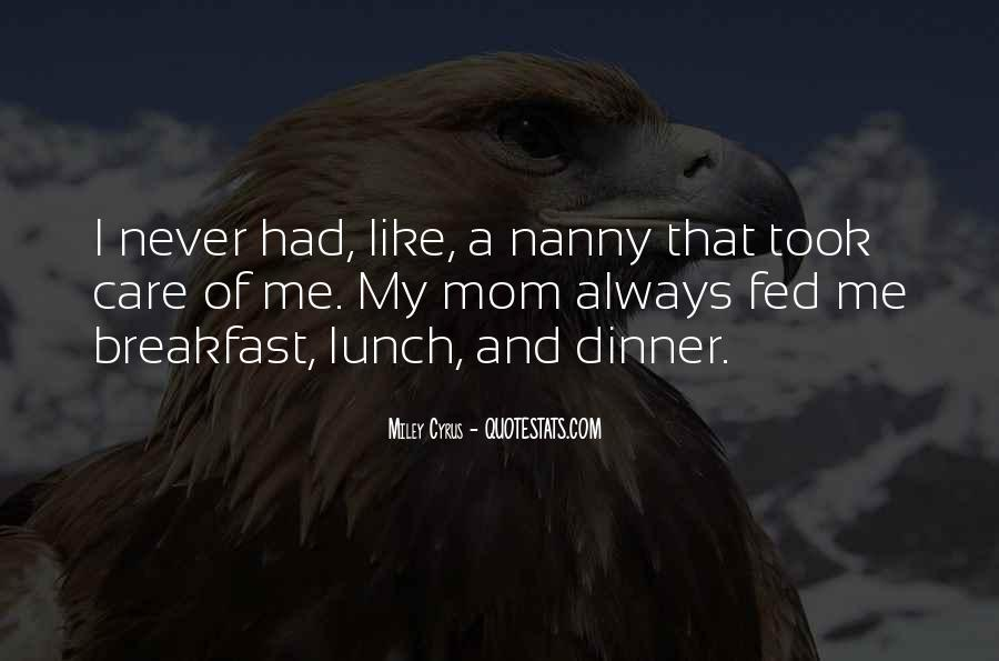 Quotes About Breakfast Lunch And Dinner #1126118
