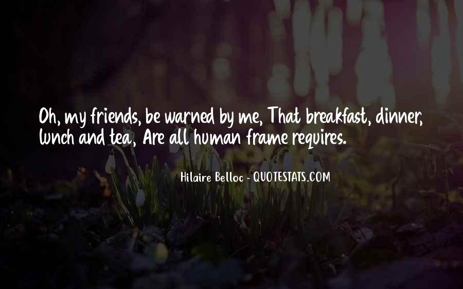 Quotes About Breakfast Lunch And Dinner #1141046