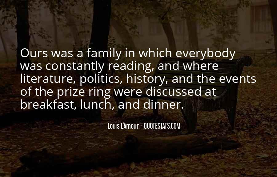 Quotes About Breakfast Lunch And Dinner #153700