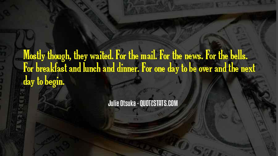Quotes About Breakfast Lunch And Dinner #1638143