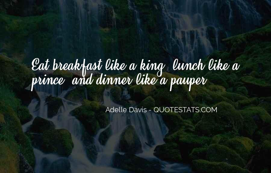 Quotes About Breakfast Lunch And Dinner #626014