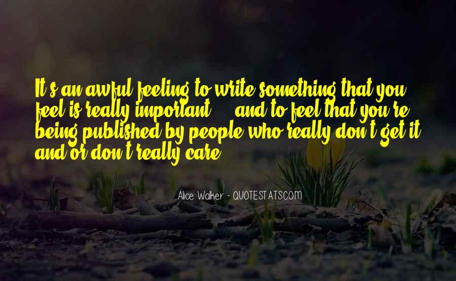 Quotes About Being Published #1196446
