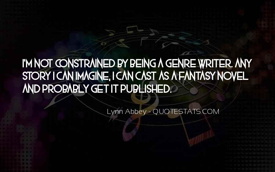 Quotes About Being Published #1226711