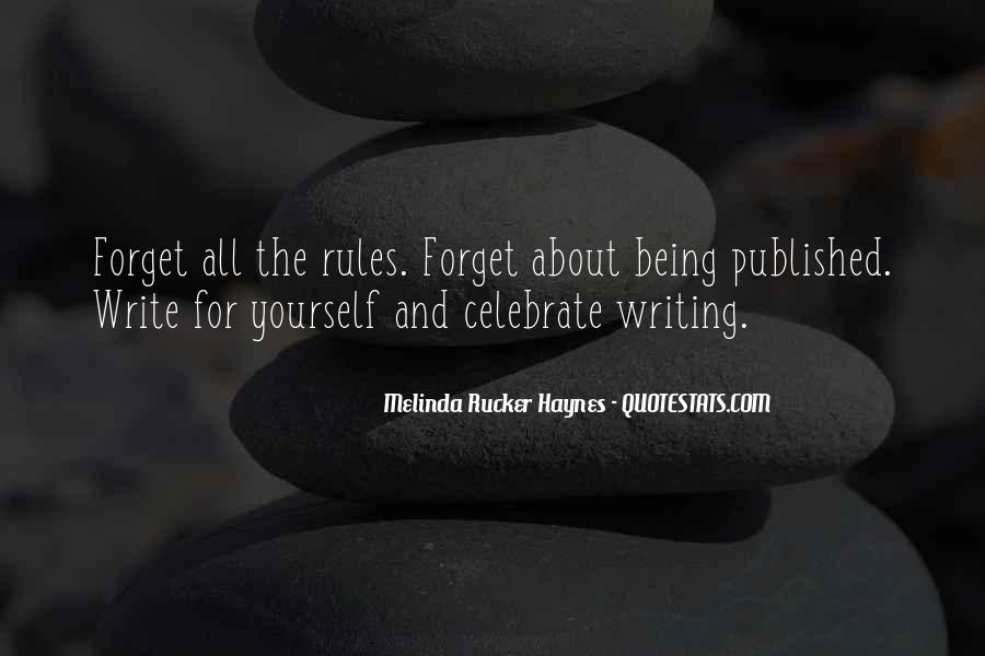 Quotes About Being Published #1255793