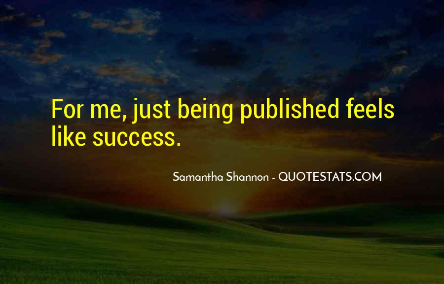 Quotes About Being Published #1265412