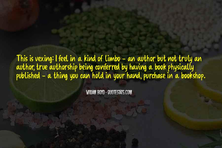 Quotes About Being Published #1440948