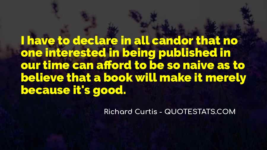 Quotes About Being Published #1504720
