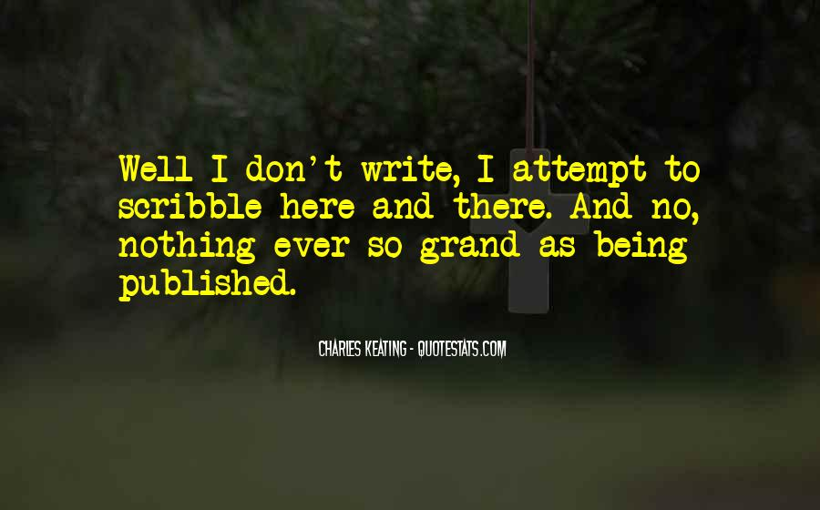 Quotes About Being Published #1579730