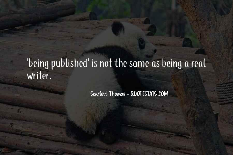 Quotes About Being Published #177877