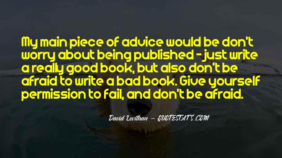 Quotes About Being Published #1796662