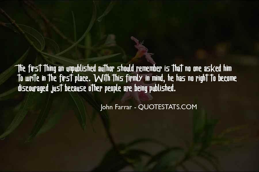 Quotes About Being Published #478853