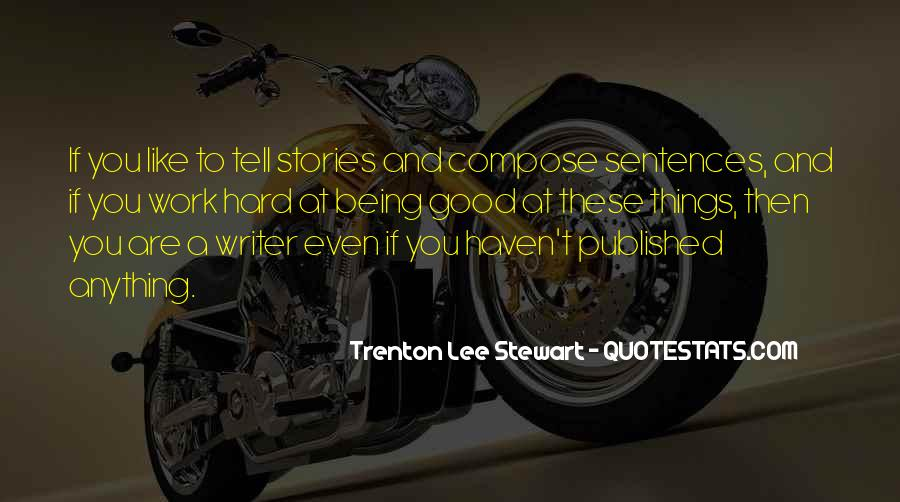 Quotes About Being Published #483282