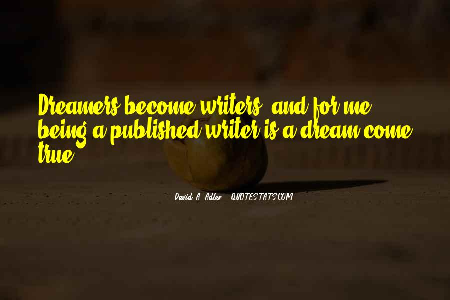 Quotes About Being Published #557388