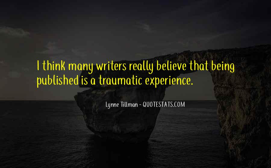 Quotes About Being Published #60398