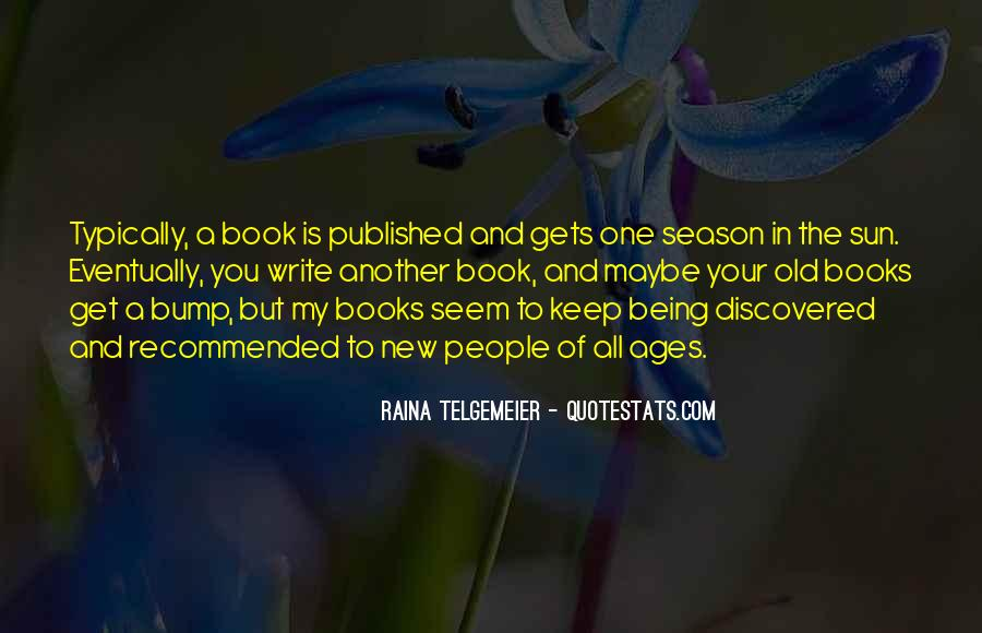 Quotes About Being Published #873350
