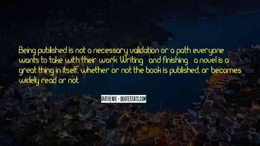 Quotes About Being Published #939816