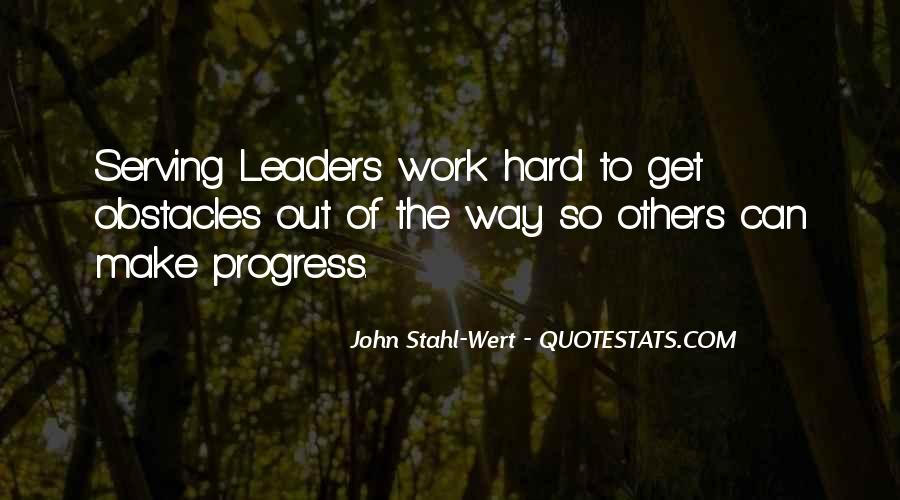 Quotes About Progress And Hard Work #1100404