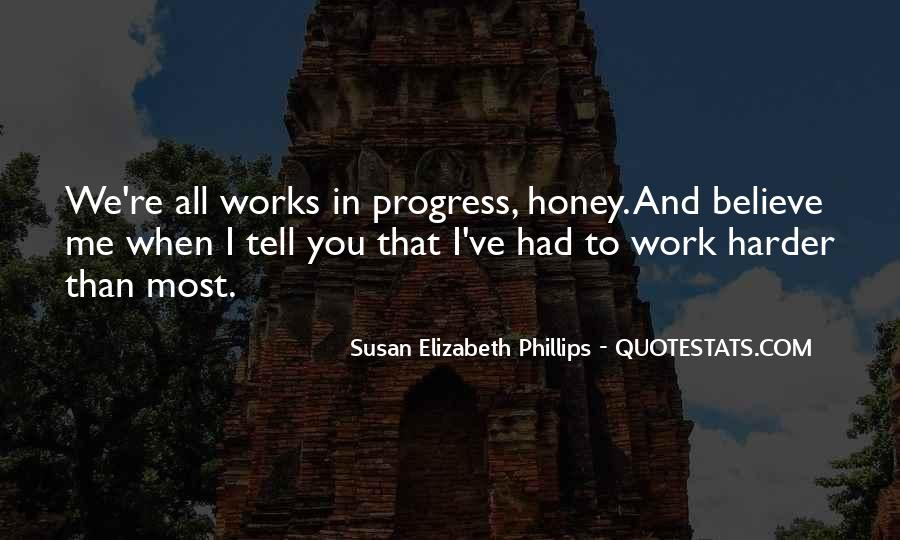 Quotes About Progress And Hard Work #135950