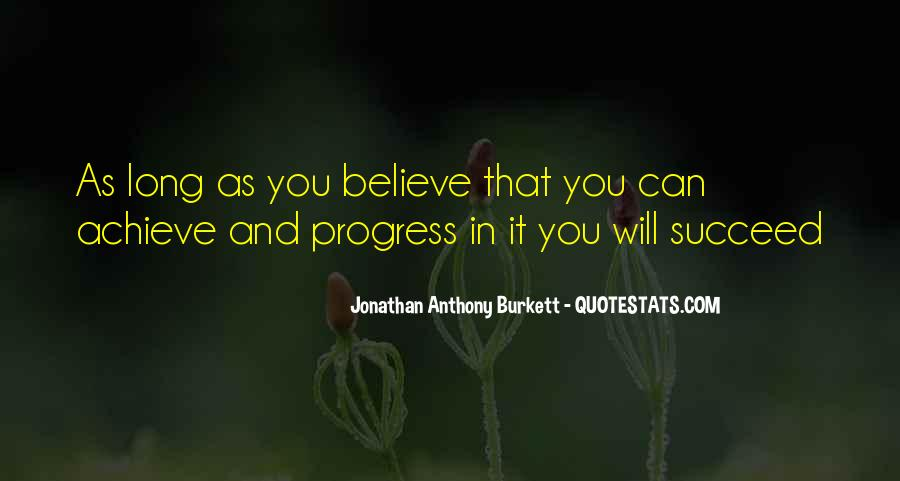 Quotes About Progress And Hard Work #1793941