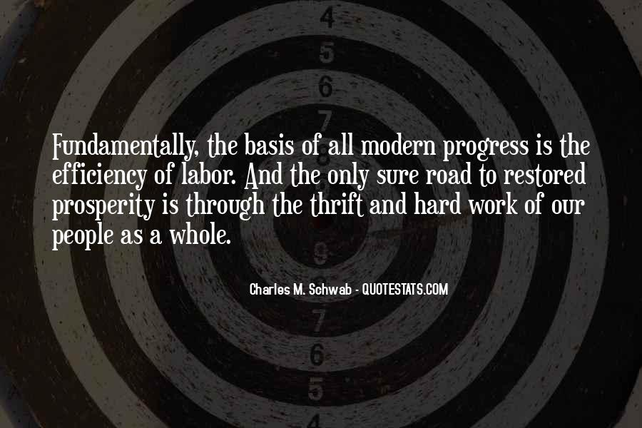 Quotes About Progress And Hard Work #230490