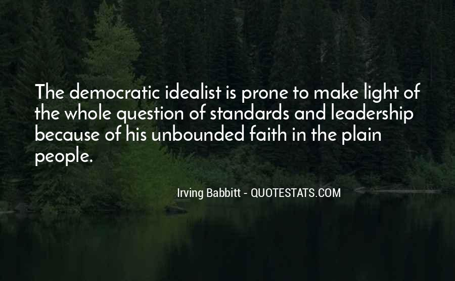 Quotes About Democratic Leadership #1050994