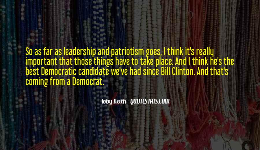 Quotes About Democratic Leadership #1407377