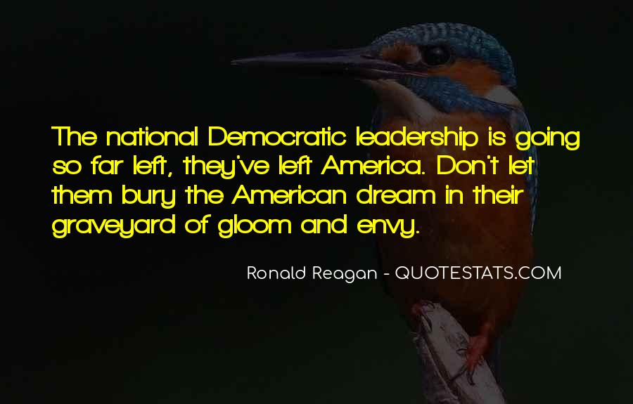 Quotes About Democratic Leadership #1823359