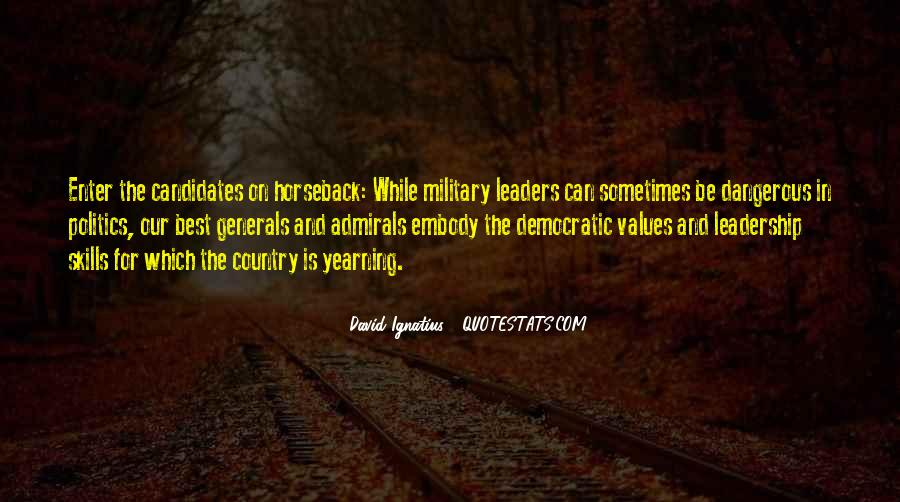 Quotes About Democratic Leadership #417023